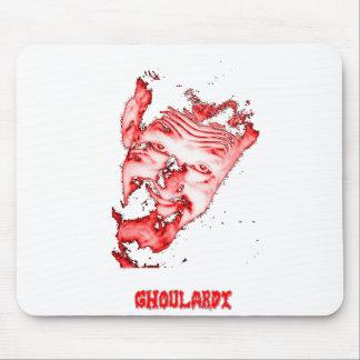 Ghoulardi (rot/transparent) kundengerechtes mousepads
