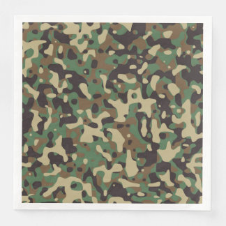 GI Tarnungs-MilitärParty-Servietten Papierservietten