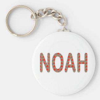Gießen Sie NOAH: KÜNSTLER NavinJOSHI Geschenke Standard Runder Schlüsselanhänger