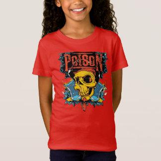 Gift-Schädel-Felsen T-Shirt