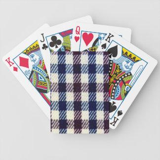 Gingham Spielkarten