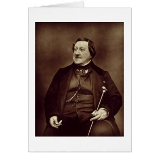 Gioacchino Rossini (1792-1868) von 'Galerie Conte Karte