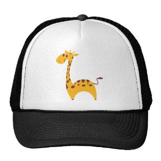 Giraffe Retrokultkappe