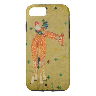 Giraffe u. Hahn iPhone 7 Fall iPhone 8/7 Hülle