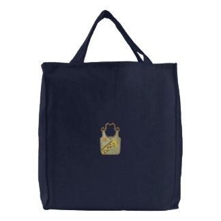 Giraffen-Geldbeutel Bestickte Einkaufstasche