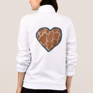 Giraffen-Liebe-Herz-Jacken