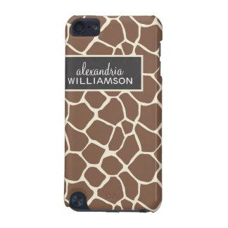 Giraffen-Musteripod-Touch-Fall (Schokolade) iPod Touch 5G Hülle