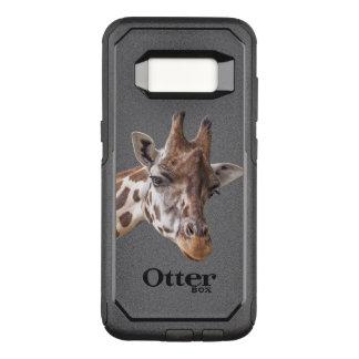 Giraffen-Porträt OtterBox Commuter Samsung Galaxy S8 Hülle