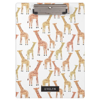 Giraffen-Safari-Druck