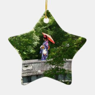 Girl Japan Keramik Ornament