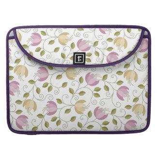 Girly Lavendel BlumenMacbook Prohülse MacBook Pro Sleeve