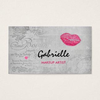 Girly Vintager Visitenkarten