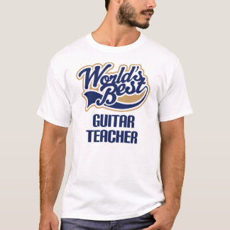 Gitarren-Lehrer-Geschenk T-Shirt
