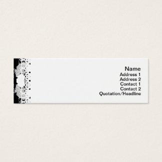 Gitter der Quallen-WGB gedreht Mini Visitenkarte