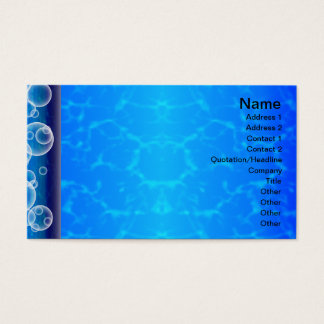 Gitter der Quallen-WGB gedreht Visitenkarten