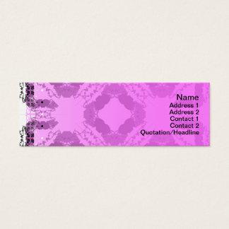Gitter der Quallen-WGB umgewandelt Mini Visitenkarte