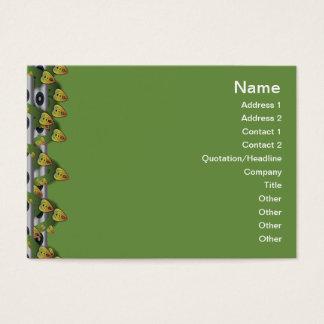 Gitter der Quallen-WGB umgewandelt Visitenkarte