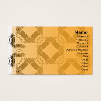 Gitter der Quallen-WGB umgewandelt Visitenkarten