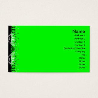 Gitter der Quallen-WGB Visitenkarten