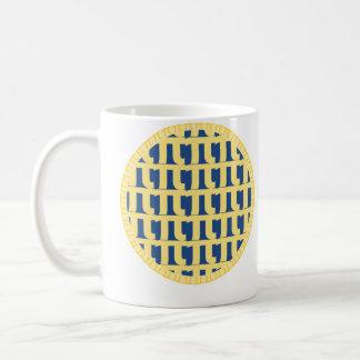 Gitter-Heidelbeerkuchen - PU-Tag Tasse
