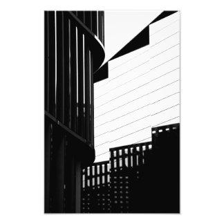 Gitterschatten Fotodruck