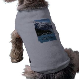 Glacier Bay mit Vogel-/Thoreauzitat Shirt