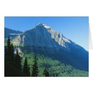 Glacier Nationalpark Montana Notecard Karte