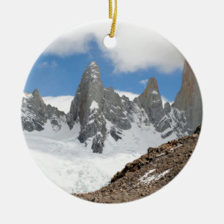Glacier Nationalparkberge, Argentinien Keramik Ornament