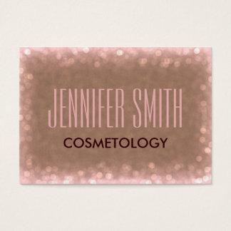 Glamourcosmetology-Friseur-Salon-Verabredung Jumbo-Visitenkarten