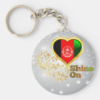 Glanz auf Afghanistan Schlüsselanhänger