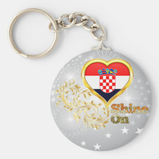 Glanz auf Kroatien Schlüsselanhänger