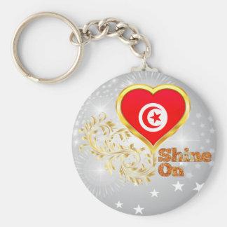 Glanz auf Tunesien Schlüsselanhänger