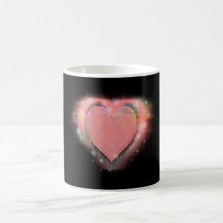 Glänzender Valentinsgruß Tasse