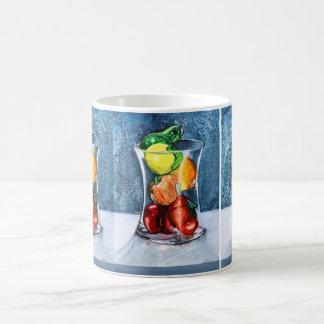 Glasfrucht-Tasse Kaffeetasse