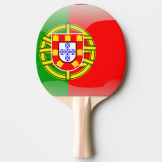 Glatte Flagge Portugals Tischtennis Schläger
