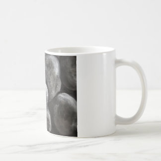 Glatte graue Steine Kaffeetasse