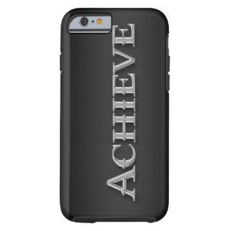 Glattes Chrom metallischer inspirierend iPhone 6 Tough iPhone 6 Hülle