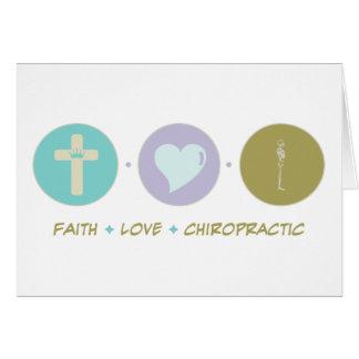 Glauben-Liebe-Chiropraktik Karte