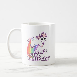 Glauben Sie an Einhörner Tasse