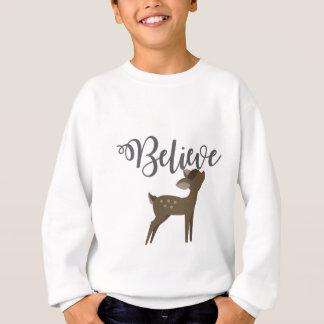 Glauben Sie Baby-Ren-Rudolph-Shirt Sweatshirt