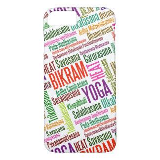 Glauben Sie dem des Hitze Bikram Yoga Practioners iPhone 8/7 Hülle