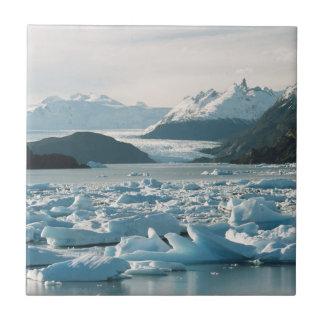 Glazial- Eisberge Keramikfliese