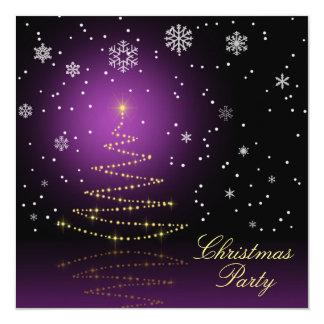 Gleamy und Snowy-Weihnachten - Einladung