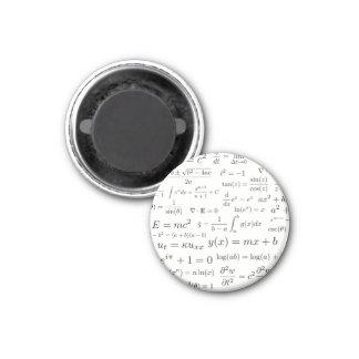 Gleichungen des Mathe-und Wissenschafts-Magneten Runder Magnet 3,2 Cm