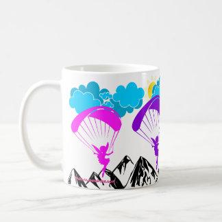 Gleitschirmfliegenelf Tasse