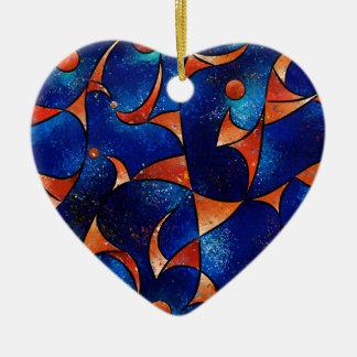 Glenfomus V1 - Nachtsicht Keramik Herz-Ornament
