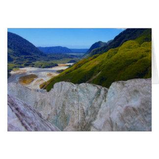 Gletscher Franz Josef Karte