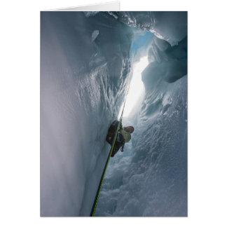 Gletscherspalte Juneau Icefield (freier Raum nach Karte