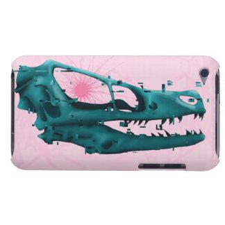 Glitched Dinosaurier iPod Case-Mate Hüllen