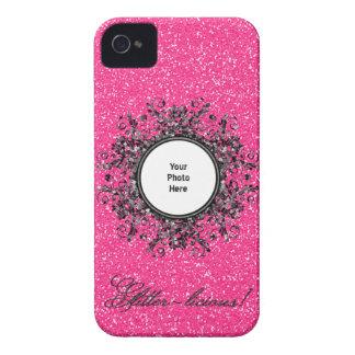 Glitter-licious Bubblegum Rosa iPhone 4 Case-Mate Hülle